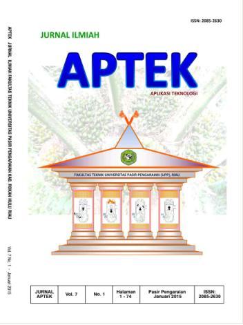 View Vol. 7 No. 1 (2015): APLIKASI TEKNOLOGI