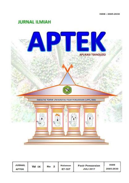 View Vol. 9 No. 2 (2017): APTEK (Aplikasi Teknologi)