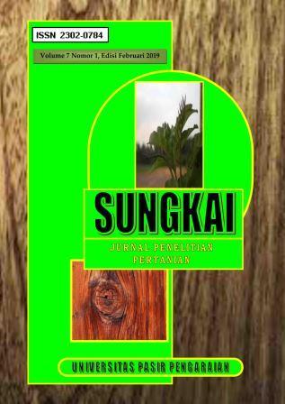View Vol. 7 No. 1 (2019): JURNAL SUNGKAI