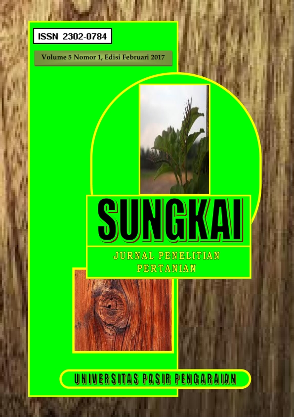 View Vol. 5 No. 1 (2017): JURNAL SUNGKAI